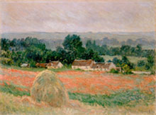 "One of Monet's works from his ""Haystacks"" series"