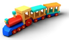 Photo of toy train